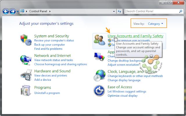 การกำหนดระดับการทำงานของ UAC (User Account Control) ใน Windows 7 Uac1