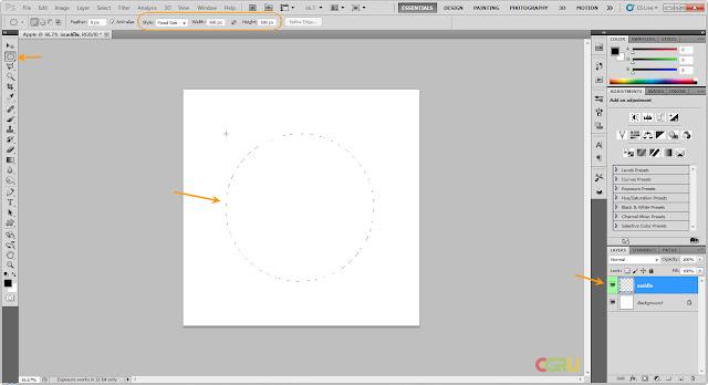 เทคนิคการวาดรูปแอบเปิ้ลสวยๆ Apple02