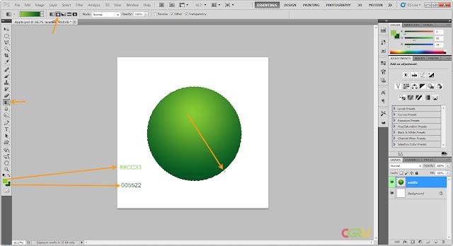 เทคนิคการวาดรูปแอบเปิ้ลสวยๆ Apple03