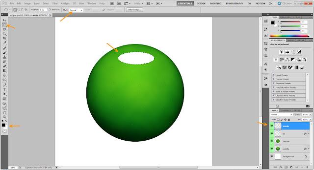 เทคนิคการวาดรูปแอบเปิ้ลสวยๆ Apple12