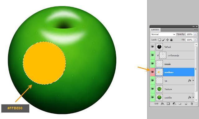 เทคนิคการวาดรูปแอบเปิ้ลสวยๆ Apple27