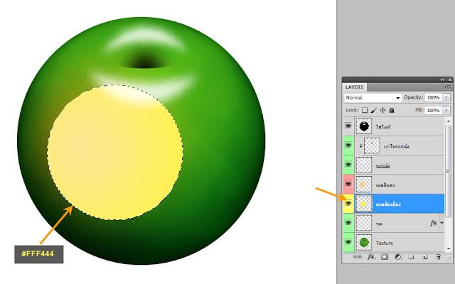 เทคนิคการวาดรูปแอบเปิ้ลสวยๆ Apple30