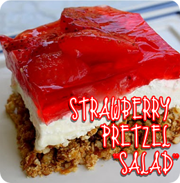 Stuff by Ash: Strawberry Pretzel Salad