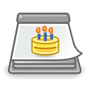 Birthday Calendar Adapter icon
