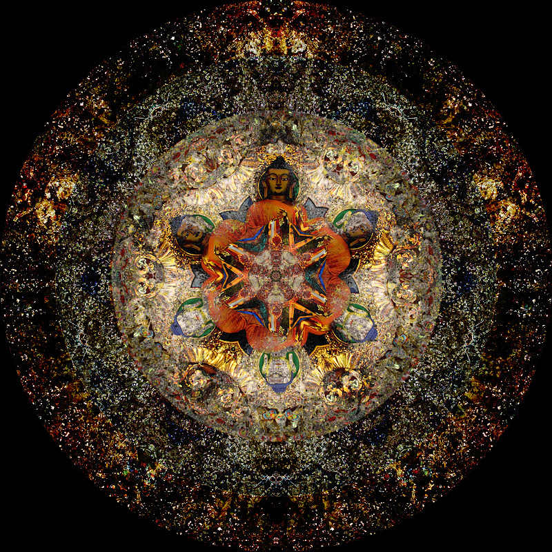 Bhavana Traveler: More Compulsive Photoshop Mandalas
