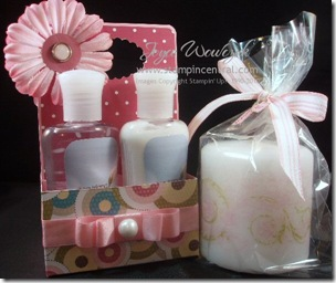 BATH/CANDLE GIFT SET