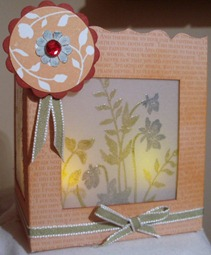 TEA LIGHT BOX FRONT