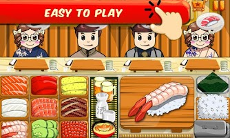 Screenshot of Sushi-Fun Food Cooking Game