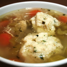 Jewish Chicken Soup with Matzo Balls