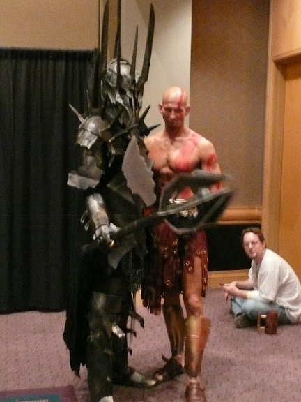 Sauron and friend