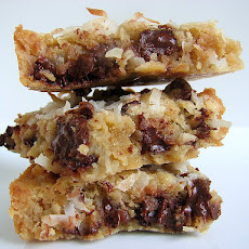 Coconut Chocolate Chip Blondies