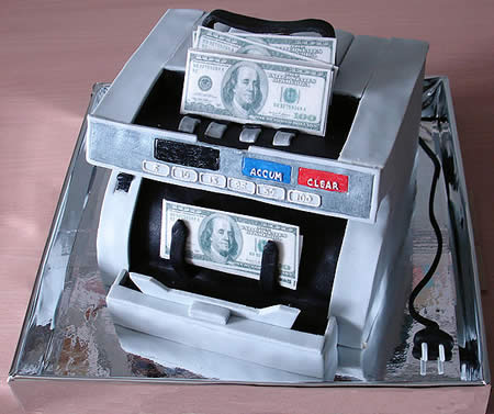 Money Machine Cake