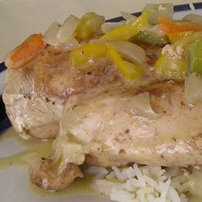 Caribbean Coconut Chicken Breasts