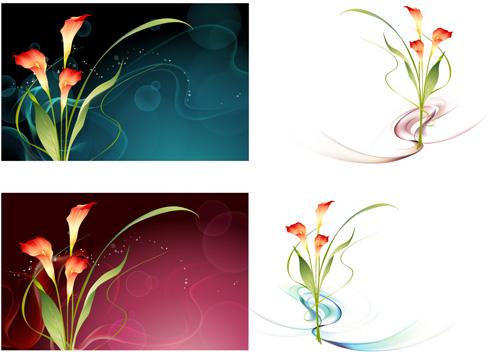Vector Fantasy Flower