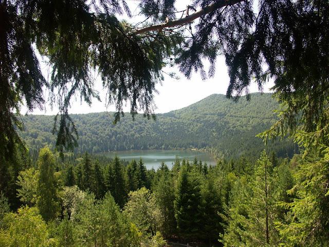 Szent Anna-tó a magasból