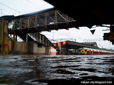 Kalyan Station Under Water