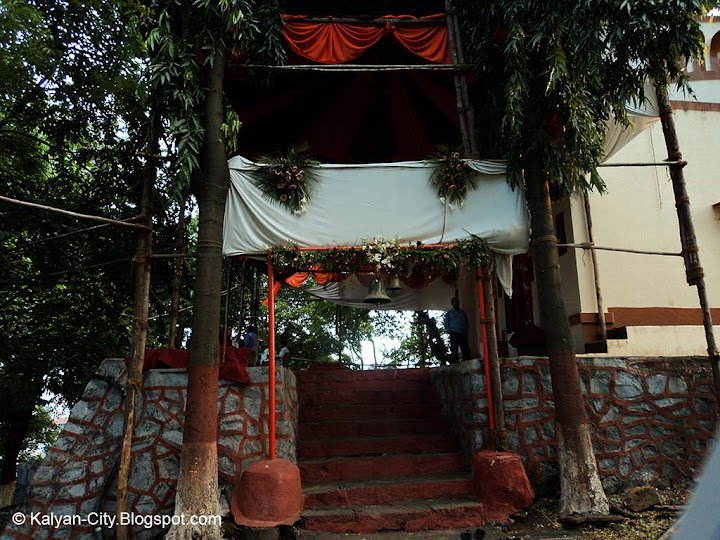 stairs of Durga Devi Mandir Temple