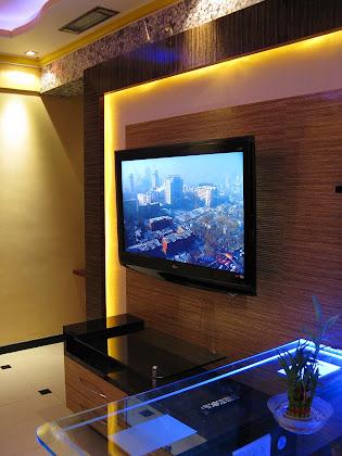 flat tv unit