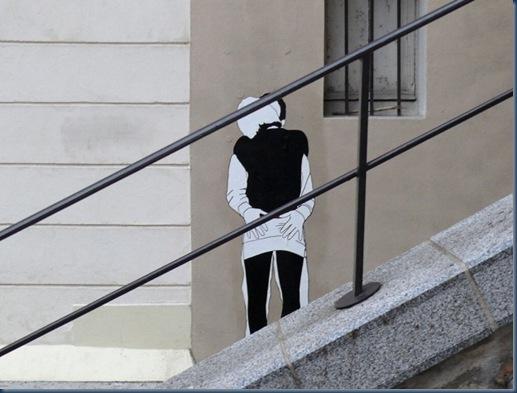 L'amore è sui muri la street art di Claire