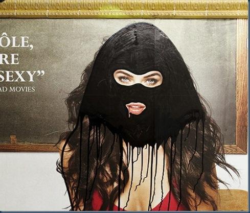 Princess Hijab, l'artista che mette il velo alle pubblicità7