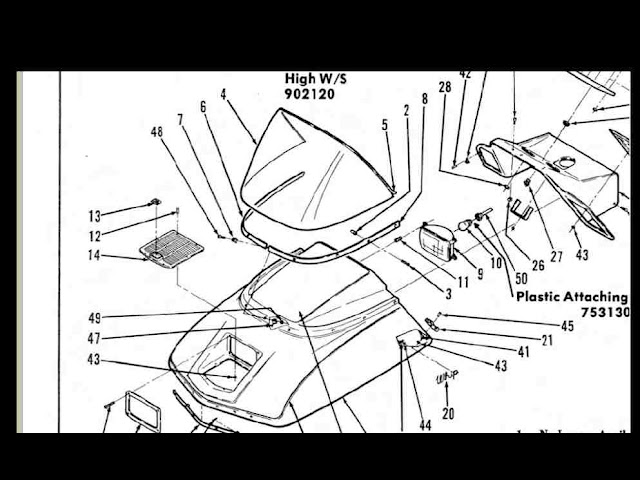 scorpion whip snowmobile part manuals 95pgs for 1975 1976 1977 340 440 repair ebay