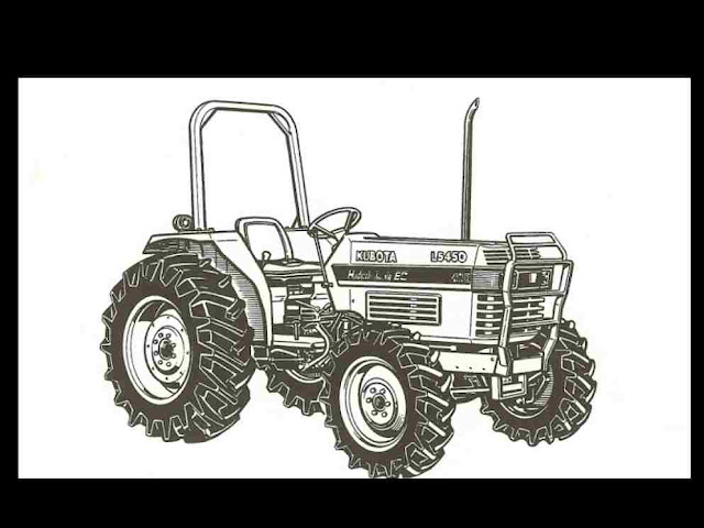 Kubota L185 Parts : Kubota l  tractor manual ebay
