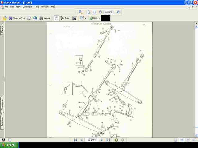 Buy Massey Ferguson Mf 1040 Parts Manual 140pg Exploded