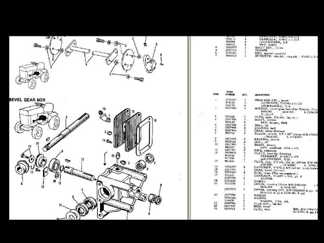 Allis Chalmers 400 410 414 M 416 S Tractor Manuals Set For Sale