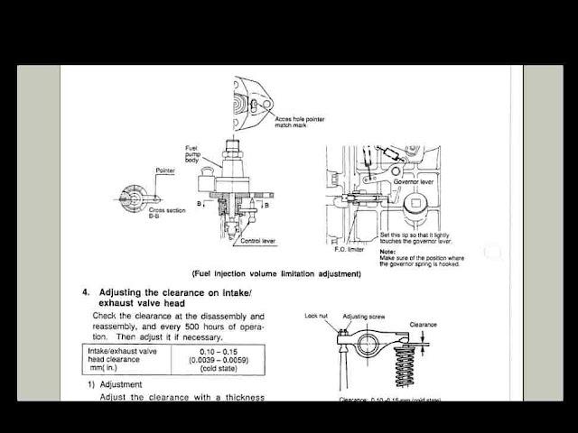 Yanmar La Lee Lv 6 Engine Service Parts Manuals Set For Sale
