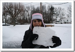 me eating ice!