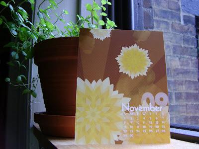 Nov Mums Calendar