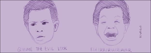 mente vazia 096 - evil look