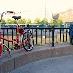 "Велосипед ""Кама"" на вокзале Хельсинки"