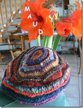 Elle tricote pour Maud