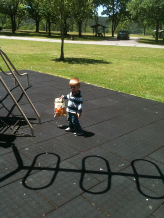 Park + Chips = Fun Day