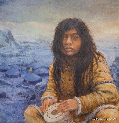 Abb. <b>Qila</b> - Einband-Bild von <i>Peter Knorr</i> aus dem Besitz des Autors, Foto: <i>Peter Denker</i>