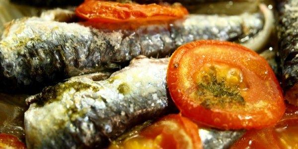 sardinas a la italiana - recetas afrodisíacas