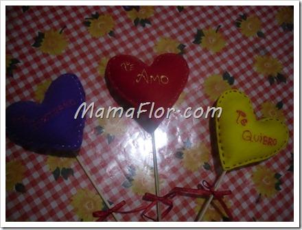 Como hacer los pin de amor