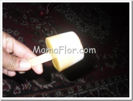 Como hacer un chupete o cubo de lucuma