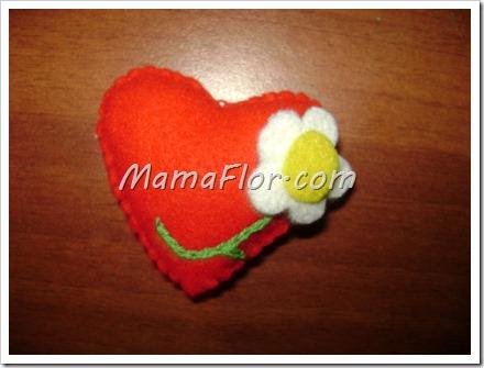Como hacer un Corazón con Felpa para San Valentín