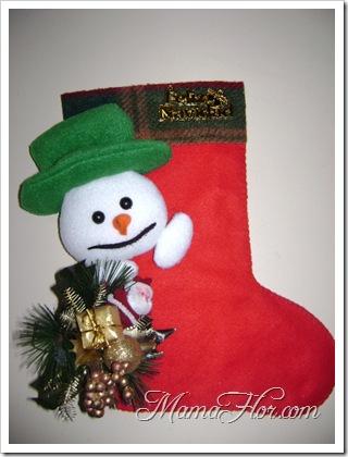 Como decorar la bota navideña