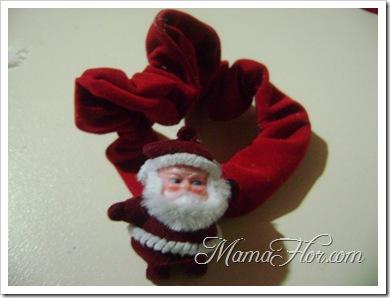 Portapelo con motivos navide os manualidades mamaflor - Tarjetas con motivos navidenos ...