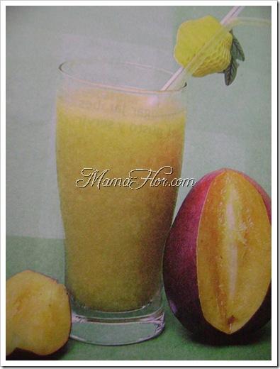 Como hacer una cremolada de mango