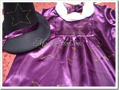 Como decorar el vestido de la brujita encantadora
