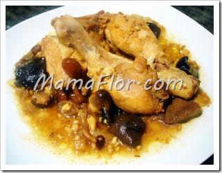 Como preparar el pollo estofado a lo norteno