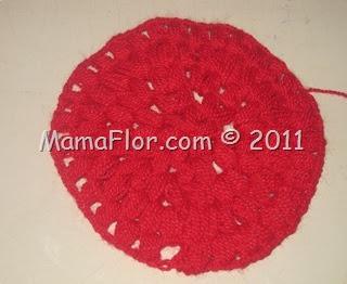 Diseño a Crochet: Punto Racimo