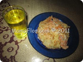 Como preparar una tortilla a base de zanahoria