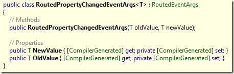 RoutedPropertyChangedEventArgs<T>