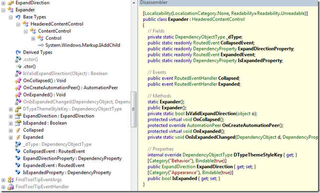Expander in WPF