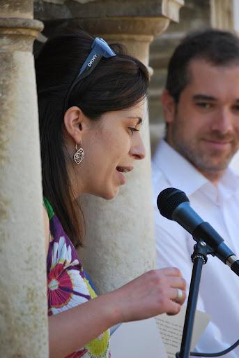 Alcaldesa en el Pregón de Fiestas